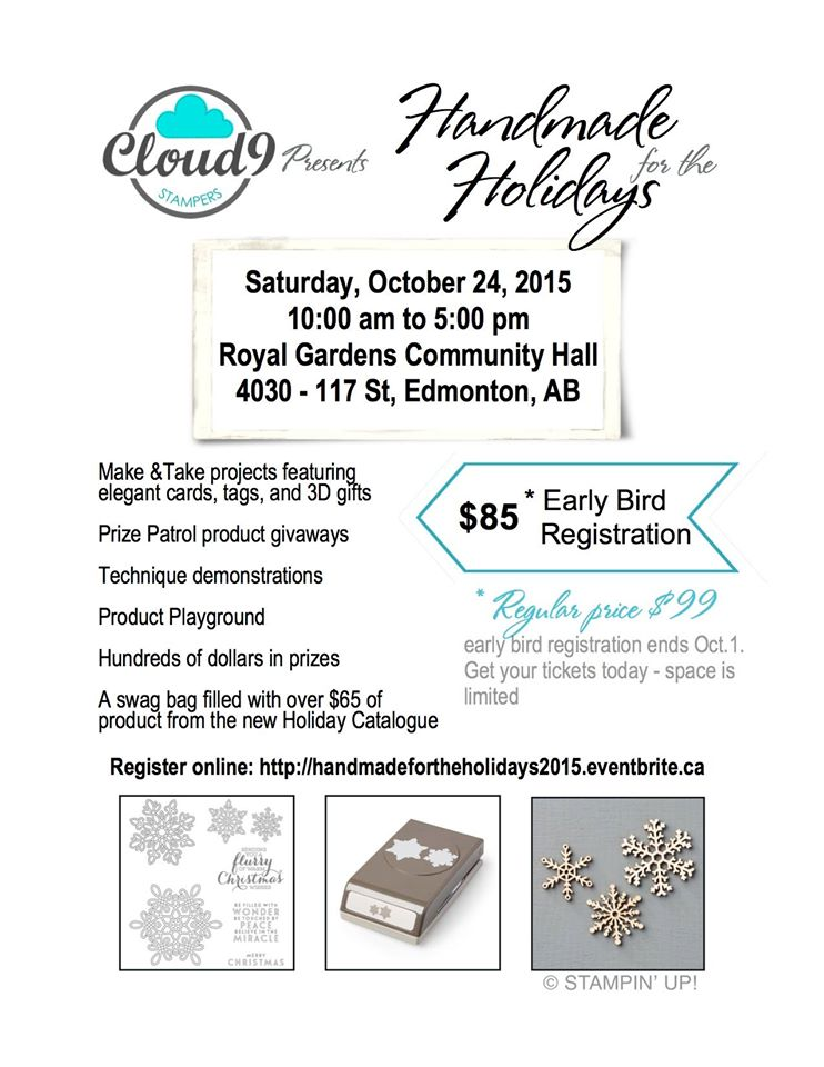 Handmade for the holidays - Event Brochure