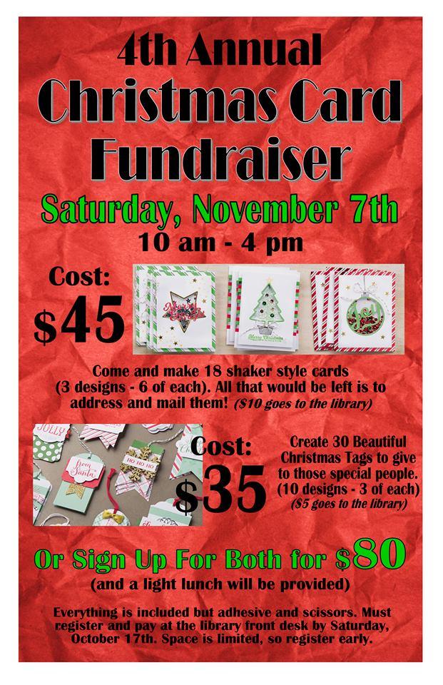 Library fundraiser